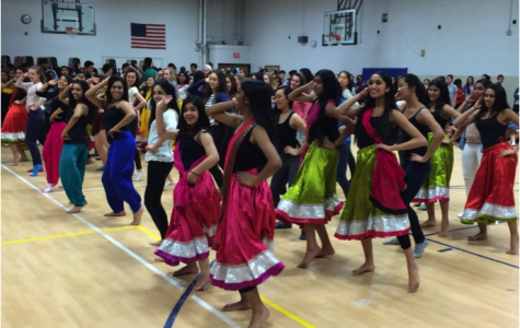 Namaste Girls rehearse after school for their I-Nite performance on Mar. 14