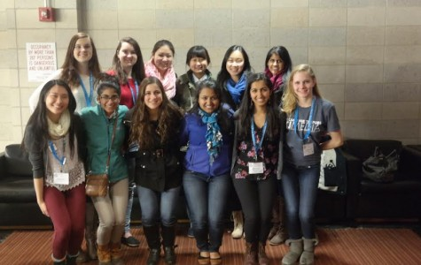 Seniors Lindsay Williams, Ellen Kan, Stav Nachum, Nandini Radhakrishnan, Eileen Zhang, Naini Shishwawala and Ruhee Shah, juniors Kate Deng, Anjali Khanna and Esther Kim and sophomore Brittany Csik attended the conference.