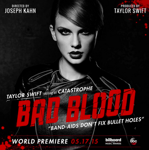 Taylor+Swift+plays+Catastrophe+in+her+new+music+video+for+%E2%80%9CBad+Blood.%22