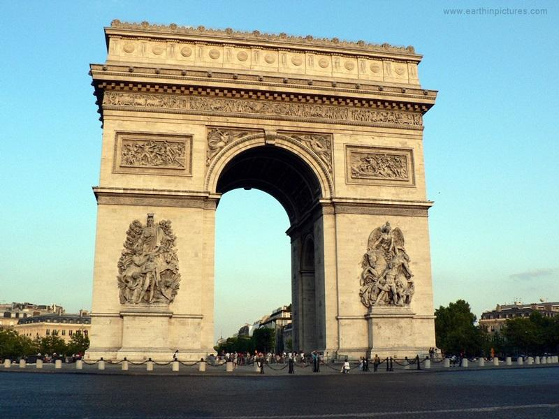 The+Arc+De+Triomphe+is+just+one+of+France%27s+many+history-+and+culture-rich+landmarks.