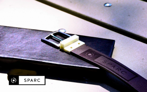 Sparc Belts is working on two buckles that will come in two colors of straps.