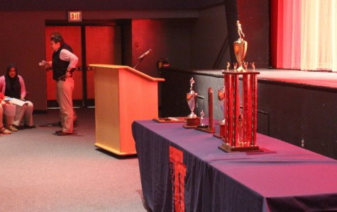 Fall sports awards recognizes student-athletes