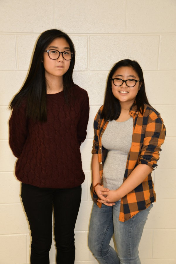 Sophomores Cho and Khang have designed an innovation for the early detection of breast cancer