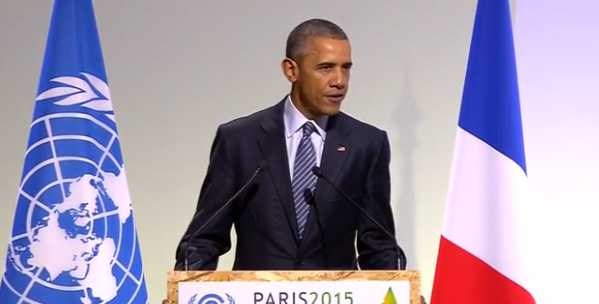 President Barack Obama met in Paris with 150 other leaders from across the globe to discuss the future of climate change.