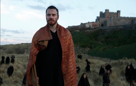 """Macbeth (Michael Fassbender) pauses before killing Macduff's family in attempt to control his fate. """"Macbeth"""", directed by Justin Kurzel, was released on Dec. 4 by the Weinstein Company."""
