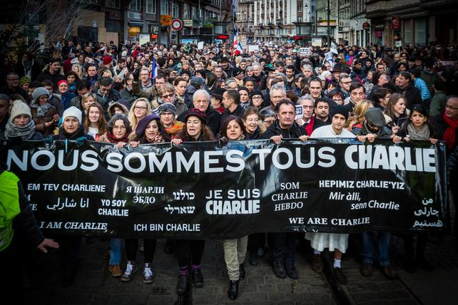 The Jan. 7 Charlie Hebdo shooting rocked the globe and lead to worldwide support of Paris and freedom of speech.