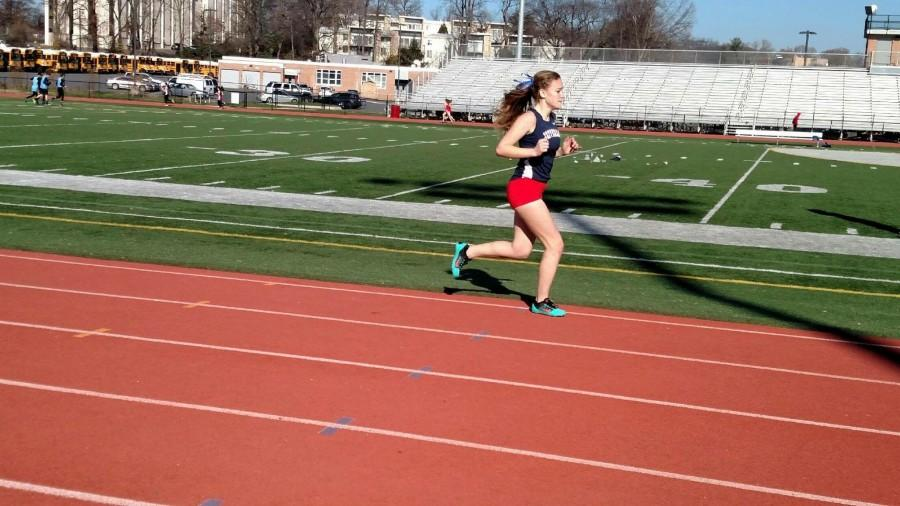 Nora Thompson kicks off the winter track season by competing at the Polar Bear meet.
