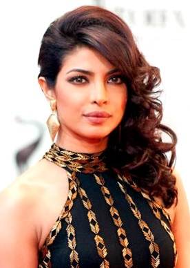 Priyanka Chopra, a woman on the top 15 list of 2015, attends a red carpet event. Chopra was one of the highest paid Hindi film actresses before beginning to also work for ABC.