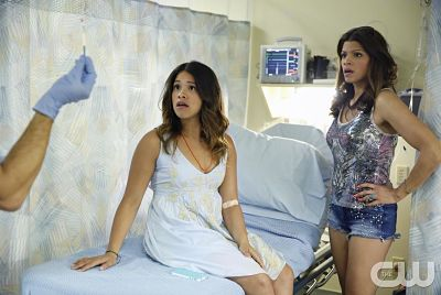 Gina Rodriguez and Andrea Navedo star in