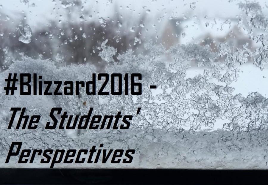 #Blizzard2016 - The snow storm from students' perspectives