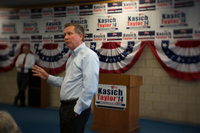 Republican presidential candidate John Kasich performed well in the New Hampshire primaries, though not well enough to beat first-place finisher Donald Trump