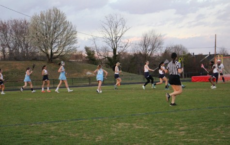 Girls JV lacrosse plays first games of the season