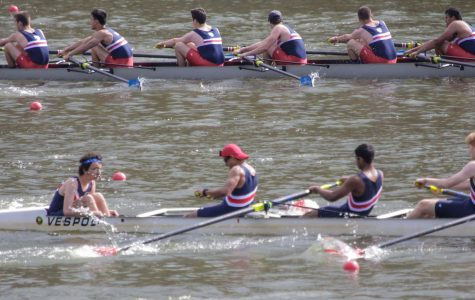 Jefferson boats row on April 1 at Sandy Run
