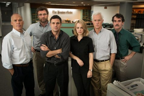 "The Spotlight team in Academy Award winning film ""Spotlight."""