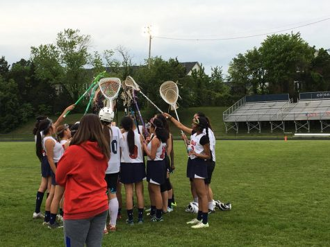 Jefferson's Junior Varsity Girls Lacrosse team plays last game of the season and looks forward to the upcoming seasons