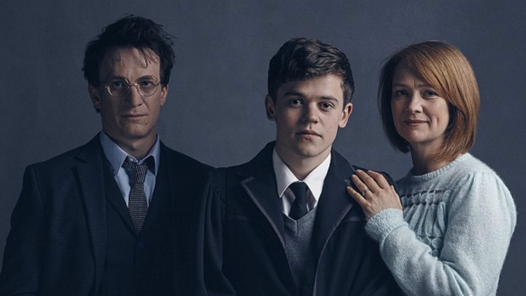Jamie Parker, Sam Clemmett, and Poppy Miller star in