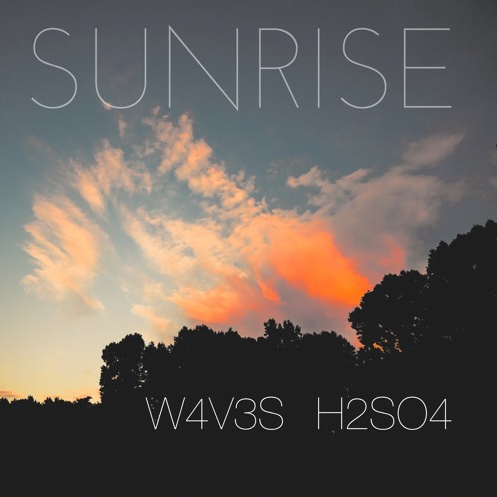 """Sunrise"", an EDM piece, is the third collaboration that Lin and Wang released."