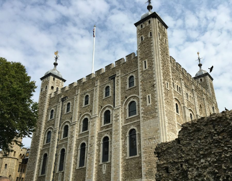 The White Tower's construction started almost a thousand years ago. It was the first structure of the Tower of London after it's completion.