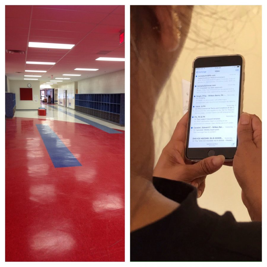 This year using your cellphone in the hallway could lead to strict consequences if it is during an instructional period. As the number of offenses increases, the severity of the consequence will also increase.