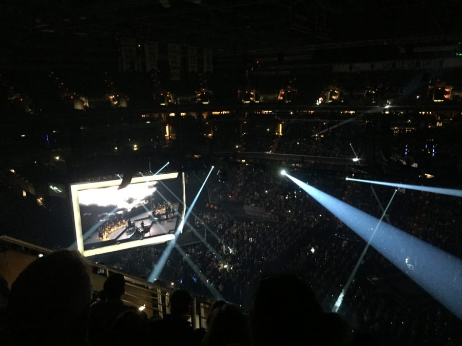 Adele performed in the Verizon Center on Oct. 11 at 8p.m.  Her performance of