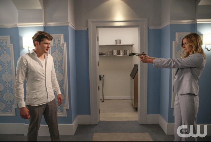 Michael Cordero (Brett Dier) finds out that his fellow cop has been working against him throughout the season in the season two finale of