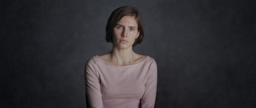 Knox is interviewed to recount her experience of being convicted for Kercher's murder.