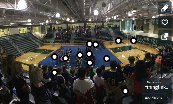 Cheerleading Semifinals: Monday, Oct. 10