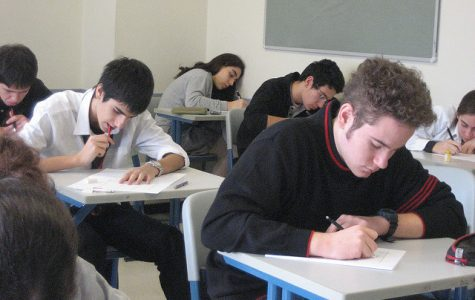 This year was the first year at Jefferson that participants in the PISA used a computer, instead of manually writing their answers.