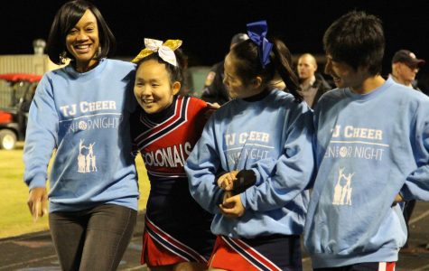 Senior Night Photo Gallery (Football, Cheer, and Marching Band)