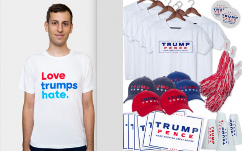 Top 10 Clinton and Trump election advertisements and campaign gear