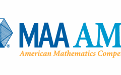 Logo for the annual American Math Competition sponsored by the Mathematical Association of America