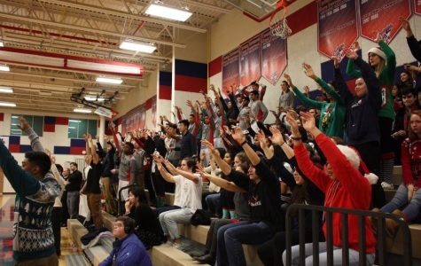 SGA-paid basketball games results in greater audience turnout for triple-header game