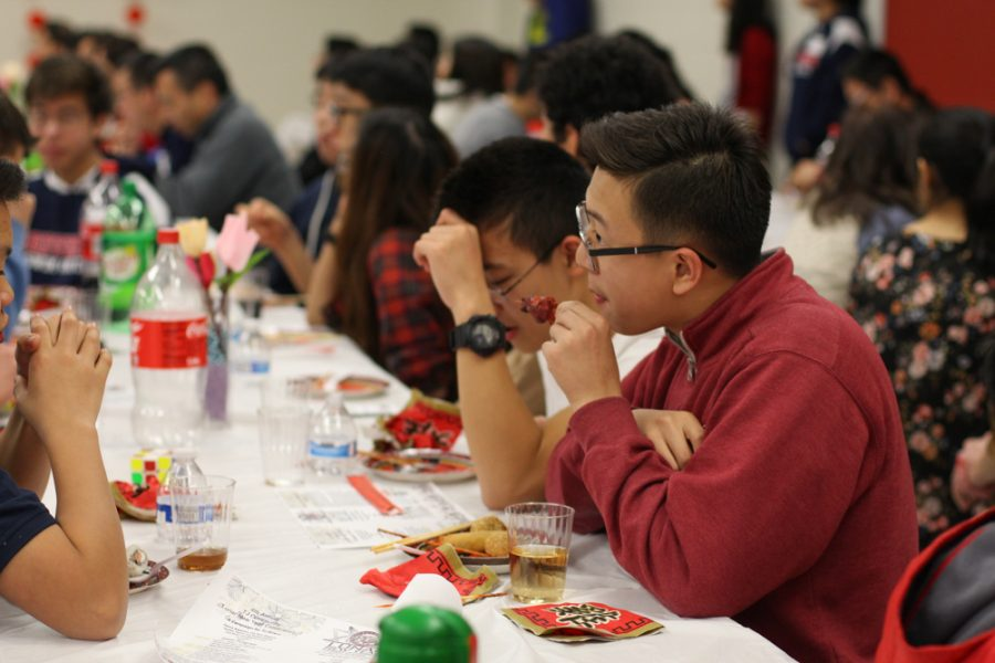 The Jefferson Lunar New Year celebration was held by the PTSA on Feb. 11.