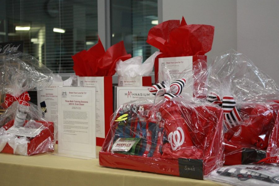 Gifts certificates and services up for the silent auction.