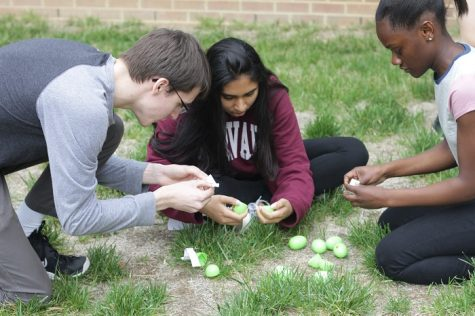 French Honor Society Easter Egg Hunt Photo Gallery