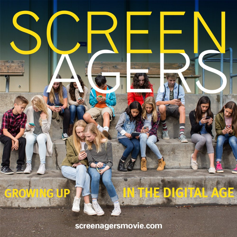 Promotional poster for Screenagers. Photo courtesy of www.imdb.com