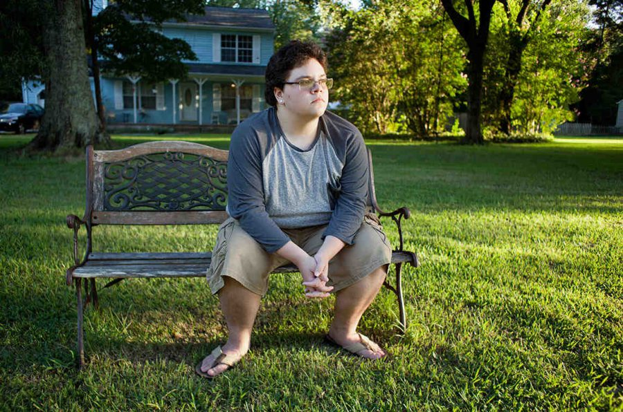 Gavin Grimm, a transgender 17 year old from rural Virginia, who is fighting for the right to use the male bathrooms at his school.