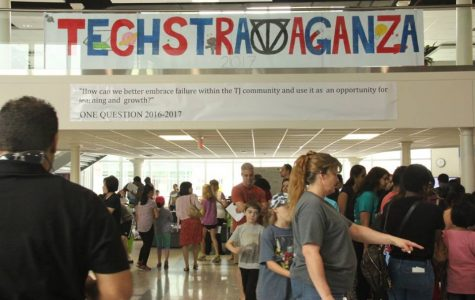 Families interact with science at Jefferson's annual Techstravaganza