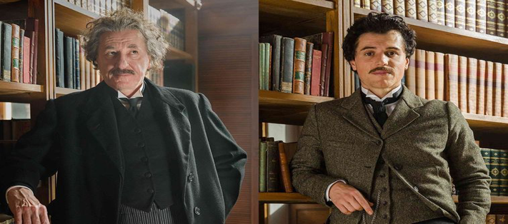 Genius features an older (Rush) and younger (Flynn)  Einstein.