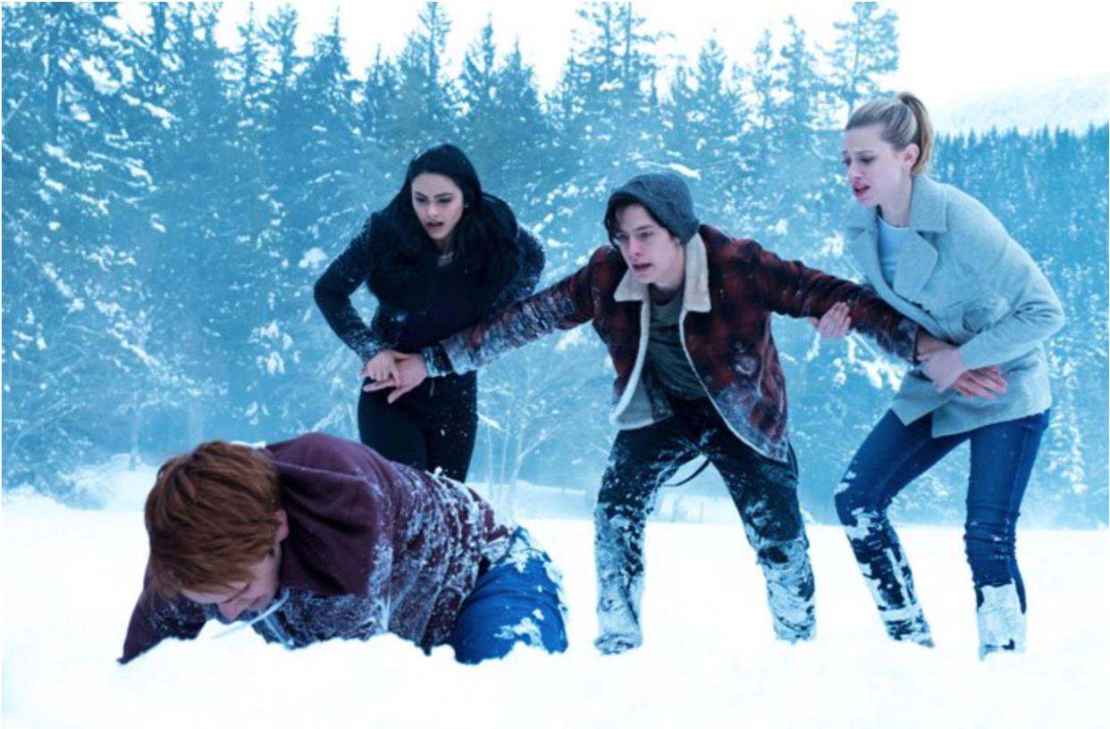 Scene from the season finale of Riverdale.