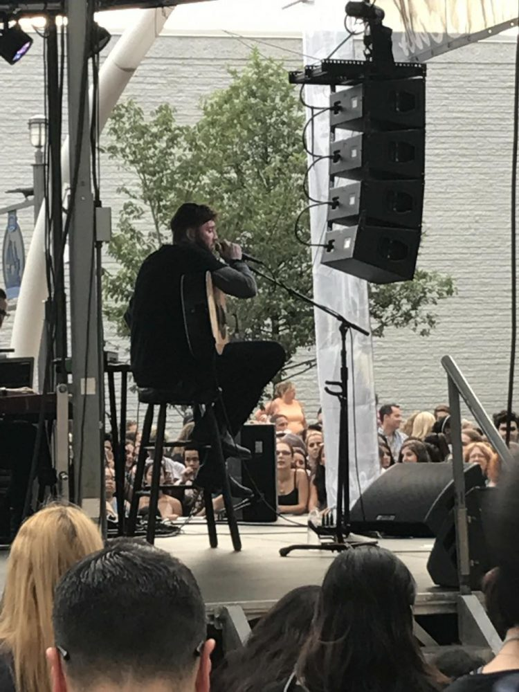 James Arthur sings at Tysons Corner mall from 6:30-8 p.m.