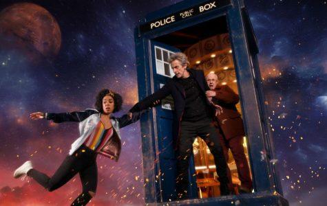 Peter Capaldi, Matt Lucas, and Pearl Mackie star in