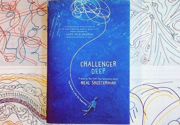 Challenger Deep by Neal Shusterman is a coming-of-age novel that discusses the implications of and stigma surrounding mental illness.