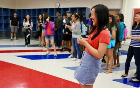 Senior Wendy Yin cherishes her asking.