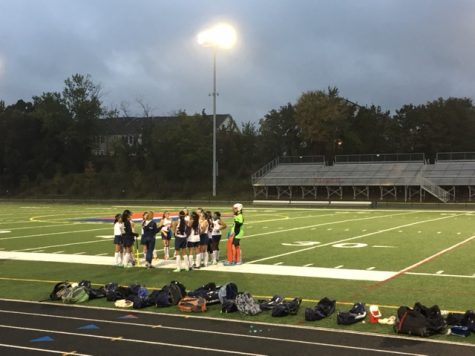 Junior Varsity field hockey team loses to Wakefield