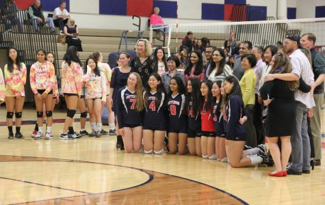 Volleyball Senior Night games against Lee Lancers photo gallery