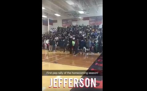 Snapchat Story: Homecoming Pep Rally Day 1