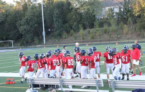 JV football team loses to the JEB Stuart Raiders