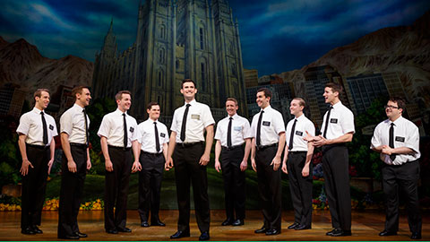 The Mormon missionaries take the stage.