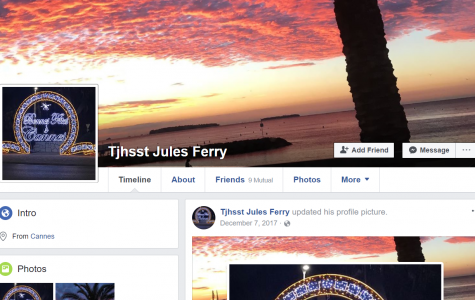 The Facebook account used by students at Jefferson and French school Jules Ferry to share posts and videos about the cultures of their respective countries.